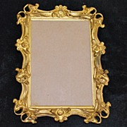Art Nouveau Gilt Metal Frame, c. 1900