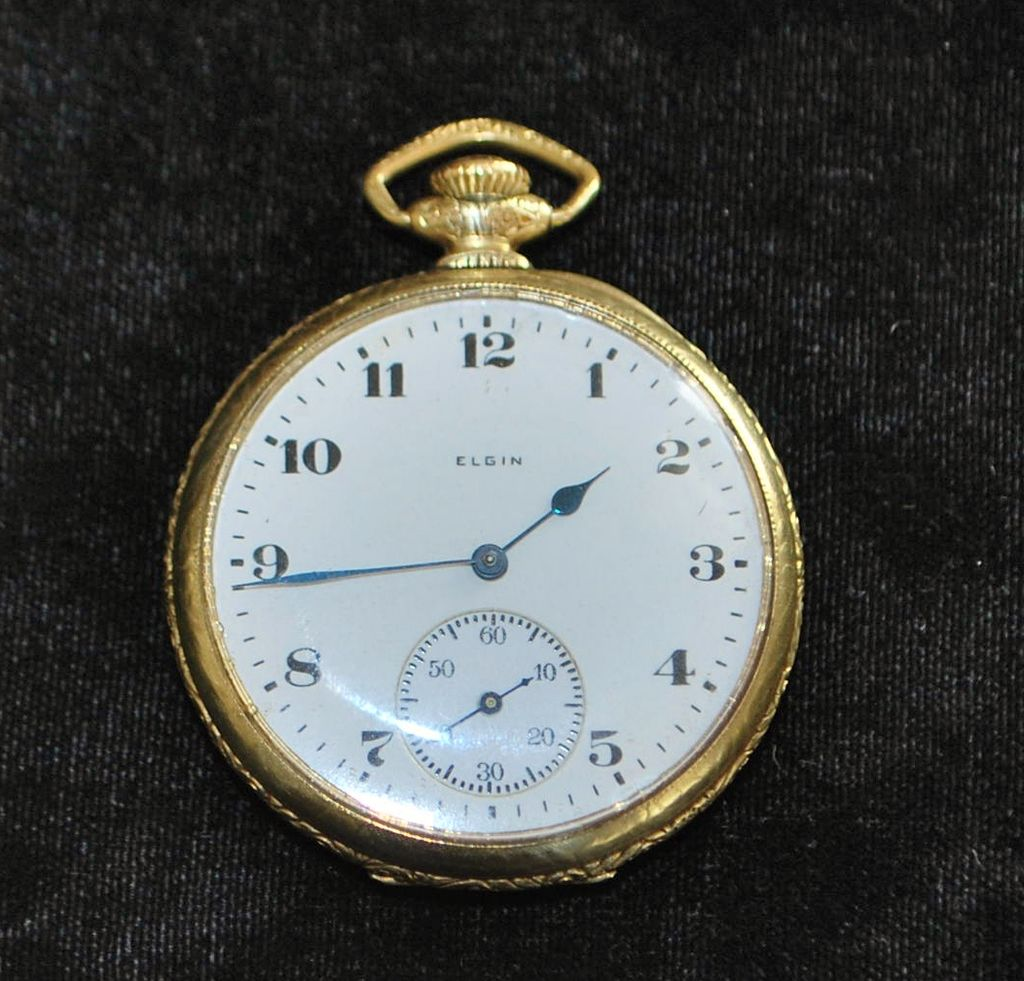 Antique elgin pocket watch dating 9