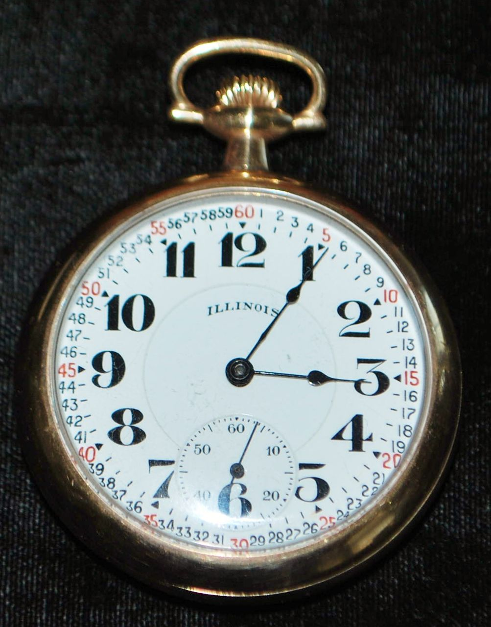 Illinois Bunn Special 21J Pocket Watch, 1921
