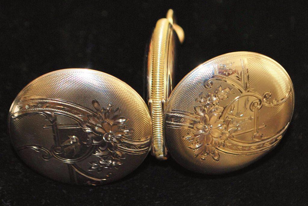 Fancy American Waltham Hunting Case Pocket  Watch,1899
