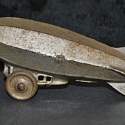 A.C. Williams Graf Zeppelin Pull Toy, 1920's