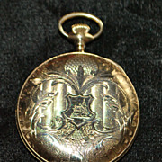 "Elgin ""Near Mint"" Hunting Case Pocket Watch, 1917"