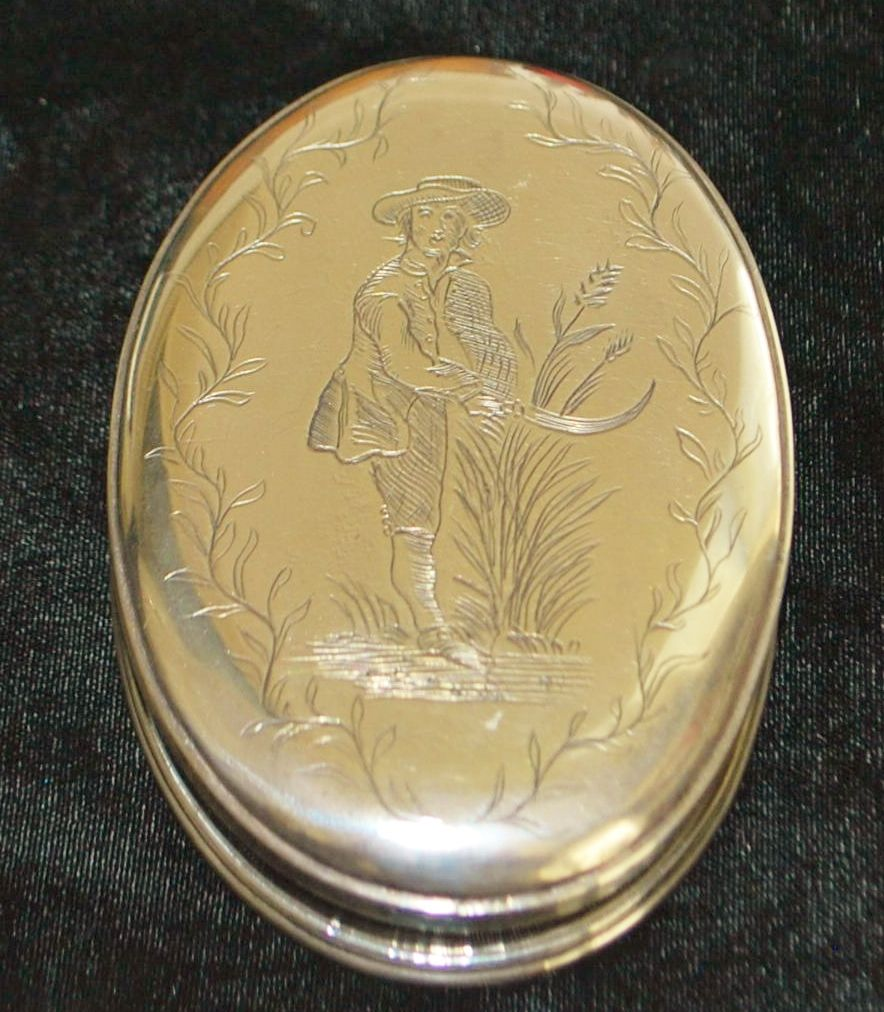 Early 19th Century Silver Table Snuff Box