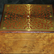 French Boulle Inlaid Box, 1920's
