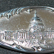 Sterling Americana Souvenir Spoon of D.C,, c. 1900