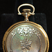 Fancy Waltham Hunting Case Pocket Watch - 1903
