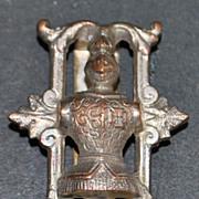 Victorian Swiss Railroad Pocket Watch Chain - Large