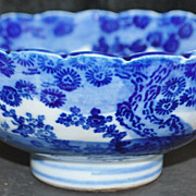 Chinese Ming Dynasty Blue and White Porcelain Bowl