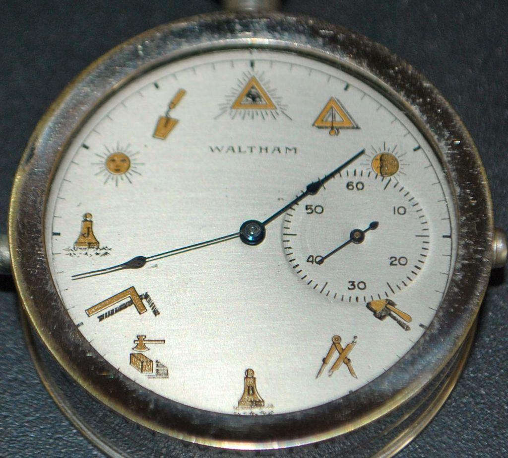 "Waltham ""Masonic"" Salesman's Display Watch - 1895"