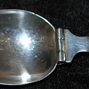 Arts & Crafts Sterling Doctor's Medicine Spoon - 1910