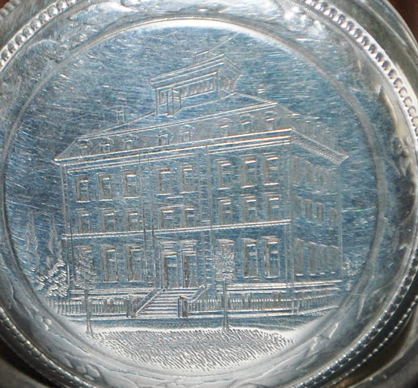 Swiss 800 Silver OF Pocket Watch, c. 1890