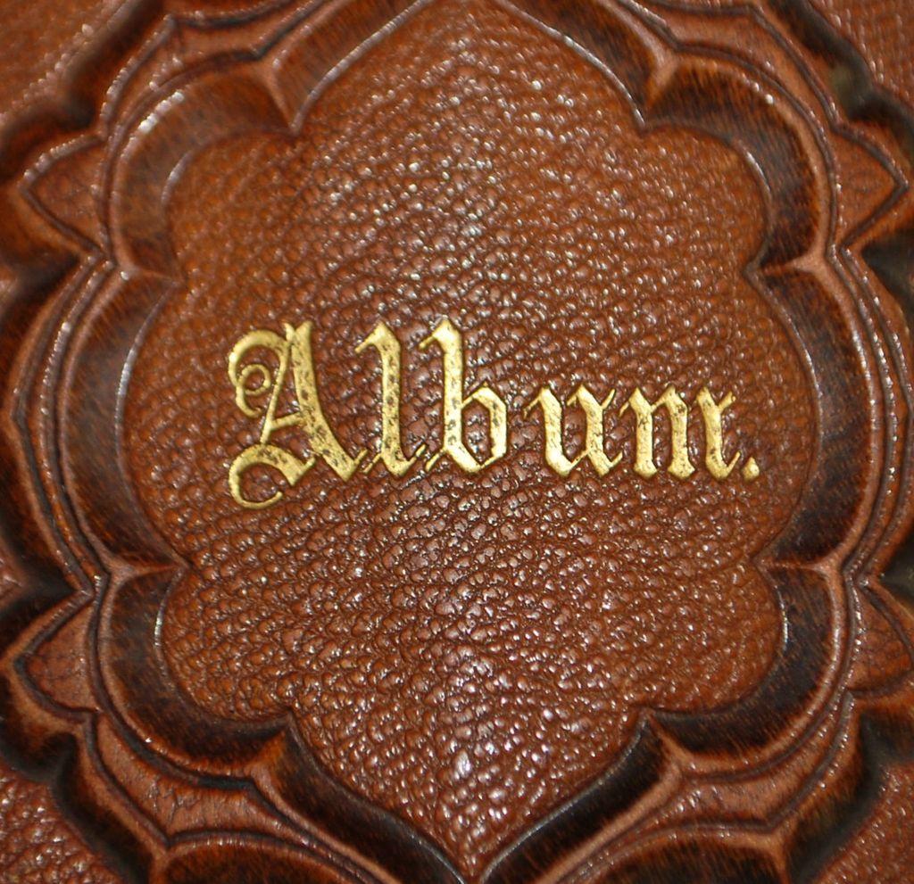 Victorian Leather Photo  Album, c. 1875