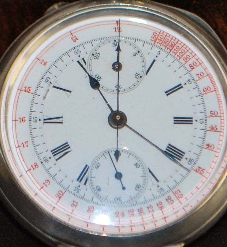 Swiss Doctor's Pulsimetric Chronograph, c. 1900