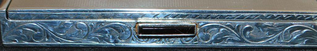 Austrian Art Deco  835 Silver Box, c. 1930