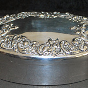 Art Nouveau Sterling Silver  Box, c. 1905