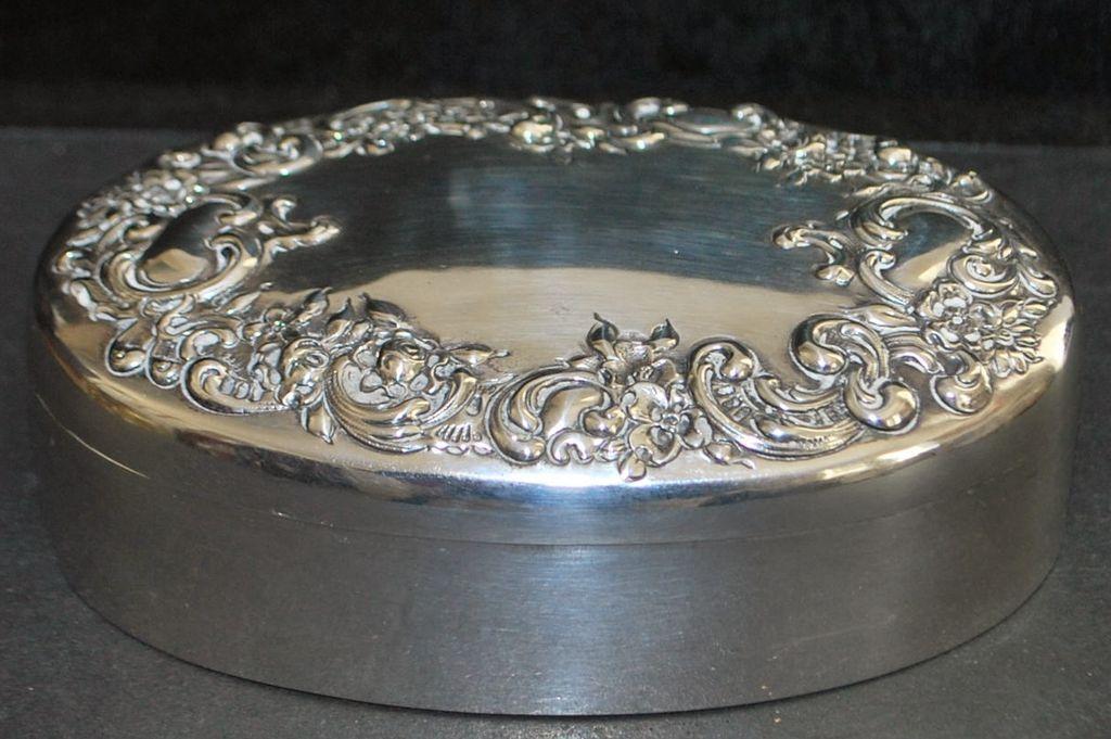 Art Nouveau Sterling Silver  Box, c. 1905