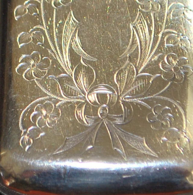Russian Art Nouveau 84 Silver Box, c. 1890