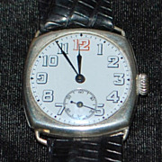 Swiss 800 Silver 15J Wrist Watch - 1920's