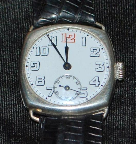 Swiss 800 Silver 15J Wrist Watch - 1920's