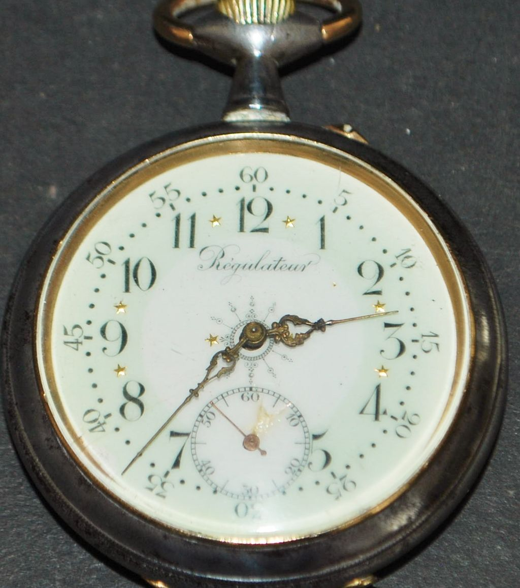 French Military Officer's OF Pocket Watch - 1890