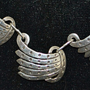 Classic Mexican Sterling Silver Necklace - 1960's