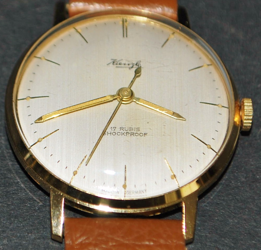 German Kienzle 17J 145 Wrist Watch - 1960's