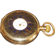 American Waltham Half Hunter Pocket Watch - 1911