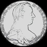 Maria Theresa Silver Thaler - 1780