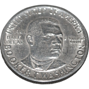 Booker T. Washington US Silver Half Dollar - 1946