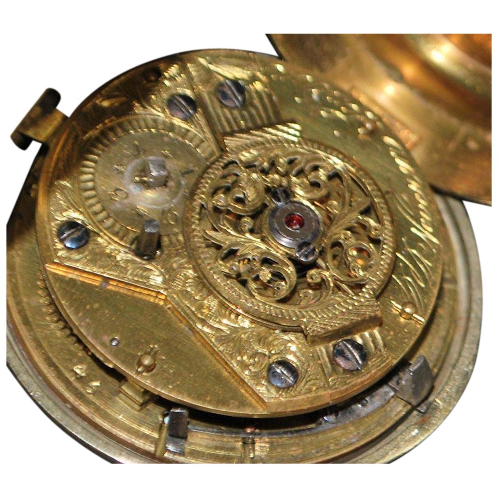 English Pair Case Verge Fusee OF Pocket Watch c. 1780