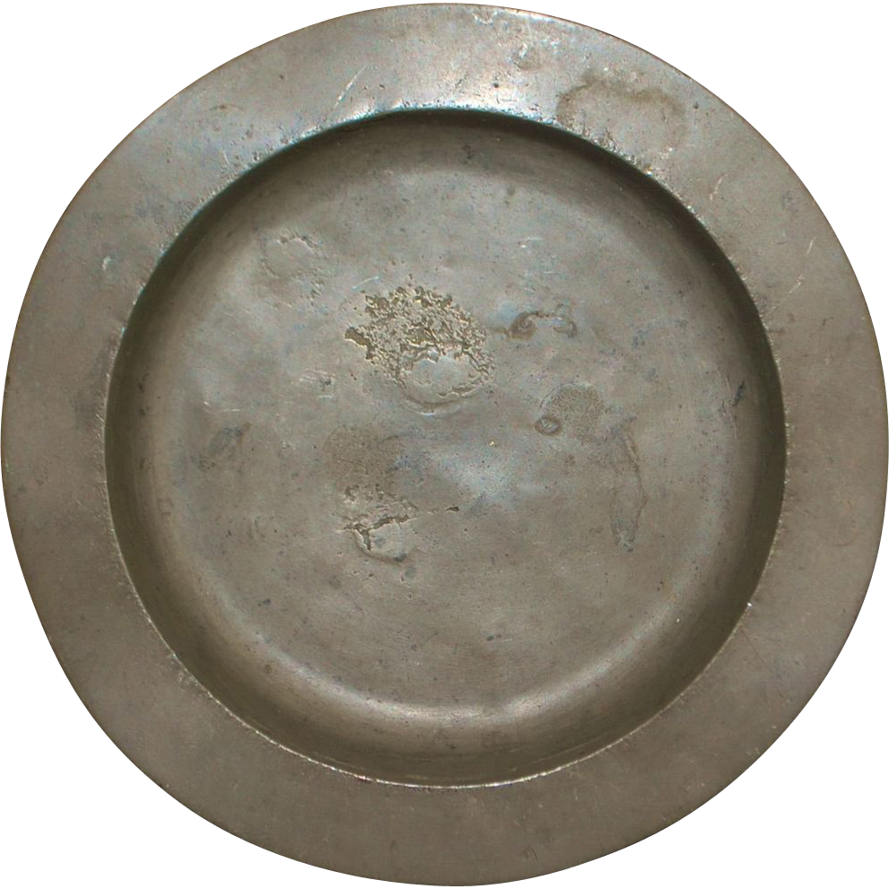 English Pewter Porridge Bowl - London - 1750