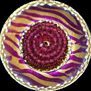 14K MOD 70's Disco Ring - 1970's