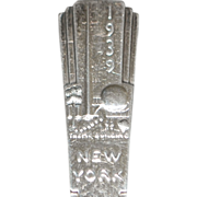 New York World's Fair Souvenir Spoon - 1939