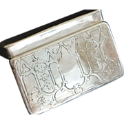 French 950 Silver  Box, - 1840
