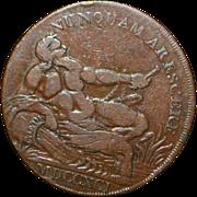 Scottish Copper Half Penny - 1791 - VF