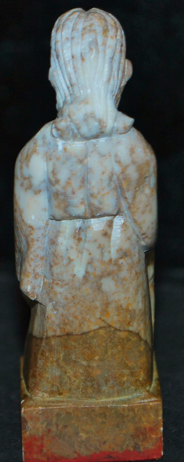 Red Soapstone Blocks : Chinese hand carved figural soapstone seal antique world