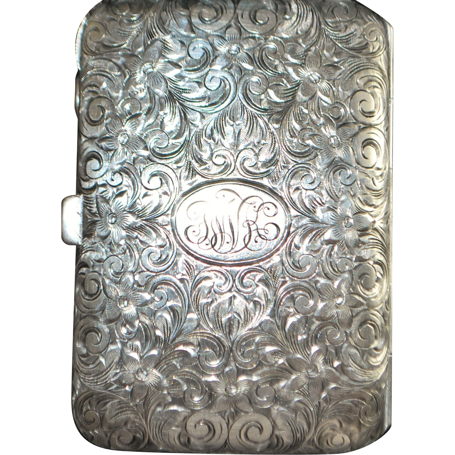 Sterling Silver Lady's Evening Purse - 1920's