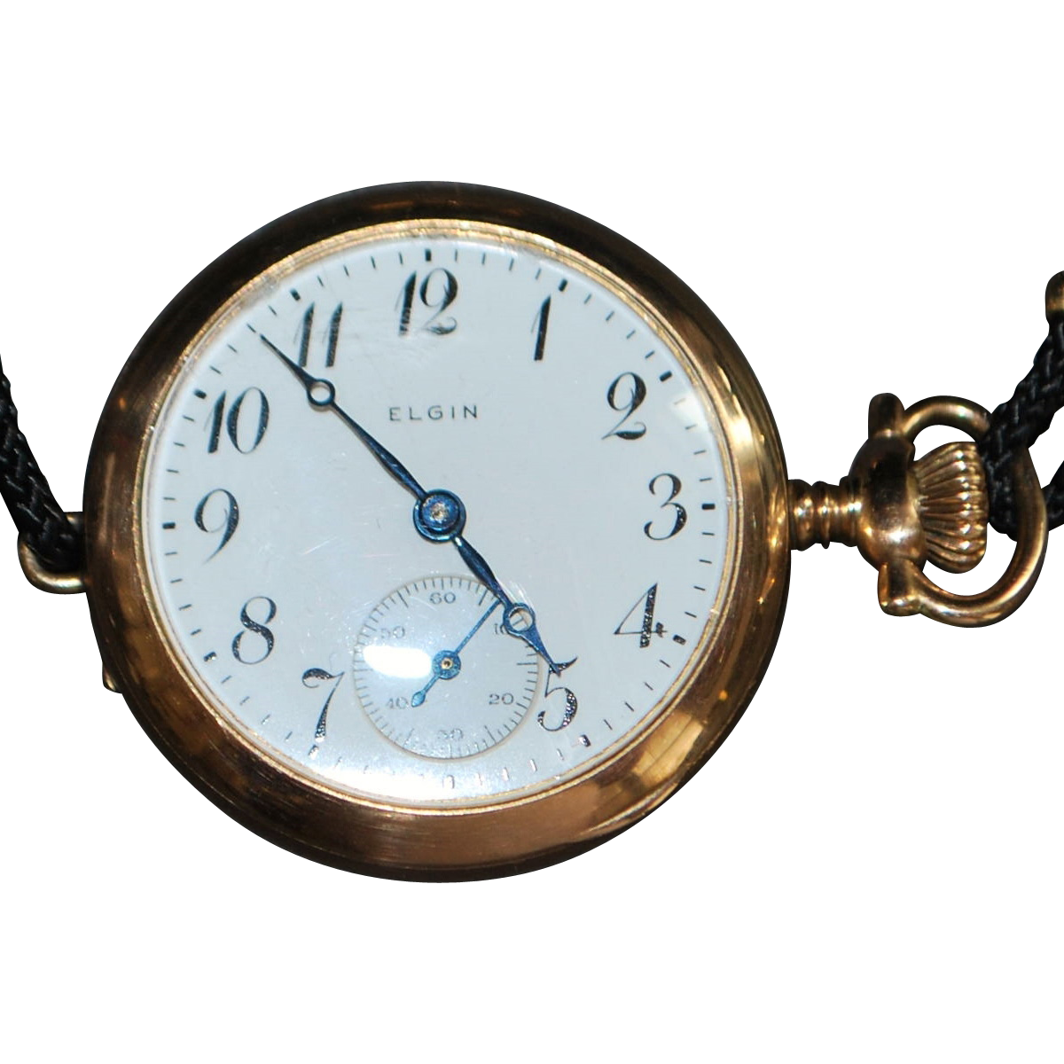 Early Lady's Elgin Pocket watch/Wrist watch - 1908