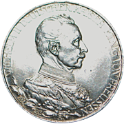 German Drei (3) Mark Coin - 1913 - A - Mint