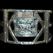 Navajo Sterling Silver Bracelet - Signed