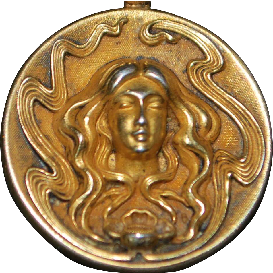 Art Nouveau Watch Fob - 1910