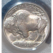 United States Buffalo Nickel, Type 1, 1913, - MS-65,  Slabbed