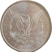 United States Morgan Dollar, Carson City,1883, MS-63 - Slabbed