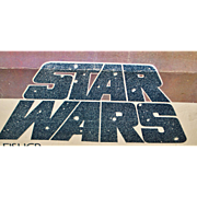 "Rare First Issue ""Star Wars"" Poster - 1977"