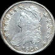 United States Silver Half Dollar - 1826