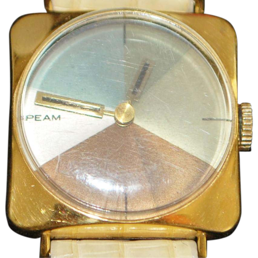 The Peam Machine Groovy Wrist Watch - 1969