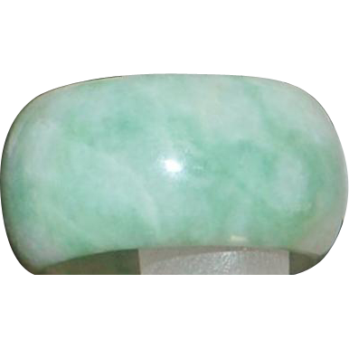 Chinese Jade Eternity Band - 1970's