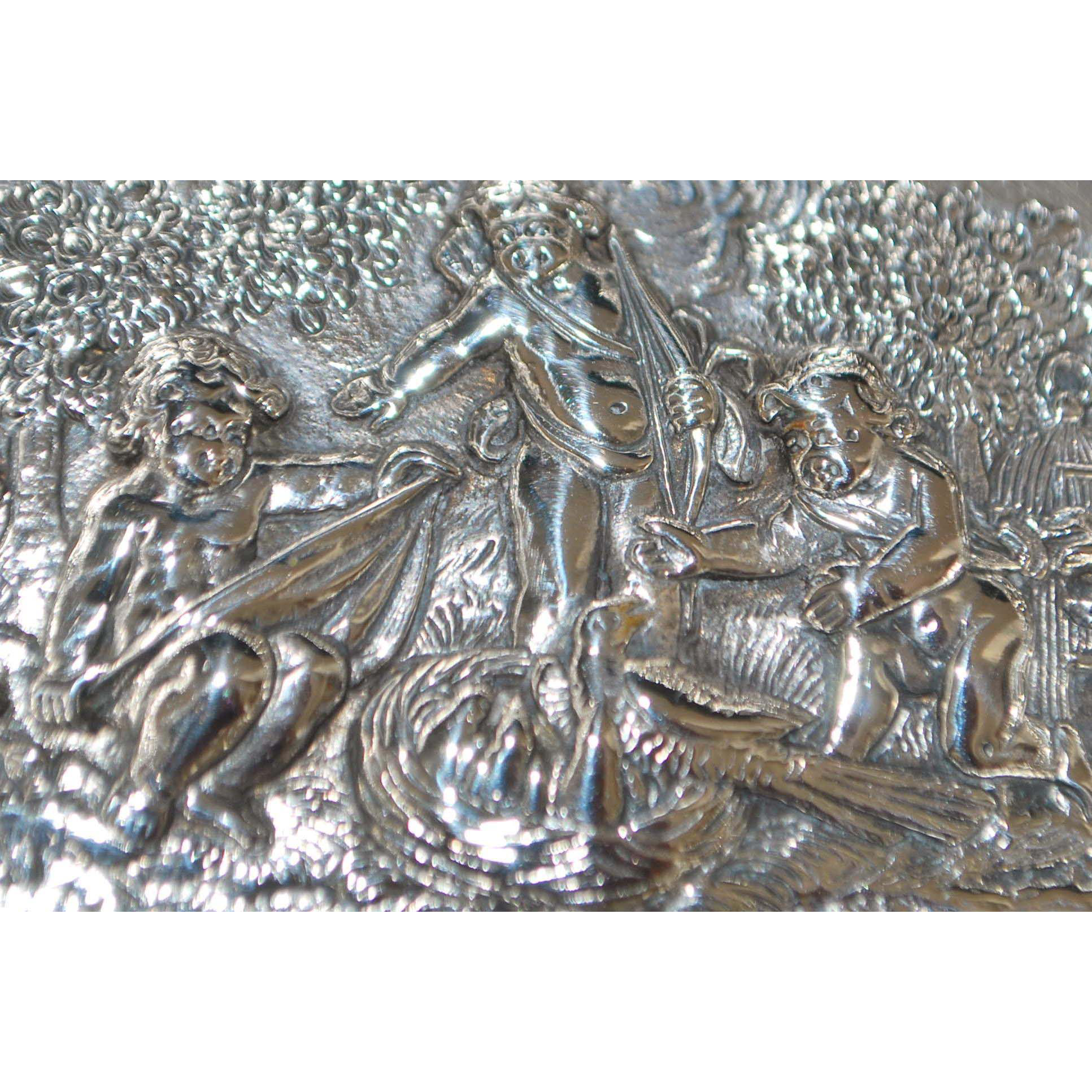 Fancy German 800 Silver Bon-bon Bowl - 1910