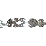 Classic Mexican Sterling Silver Bracelet - 1960's