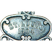 St. Louis World's Fair Watch Fob - 1904